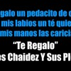 DJ xJAROCHOx  -  Te Regalo - Ulices Chaidez Y Sus Plebes Portada del disco