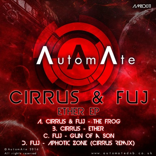 Cirrus & Fuj - The Frog - AM8D011 - Out Now