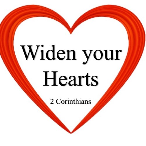 Widen Your Hearts: Giving Money