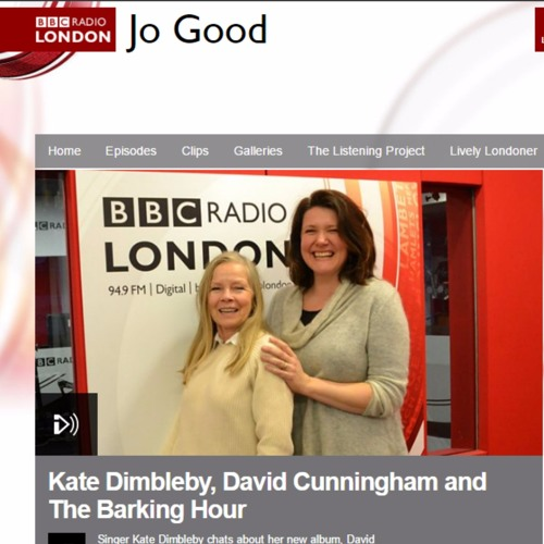 Kate Dimbleby on Radio London Jo Good Show 26th Jan 2017