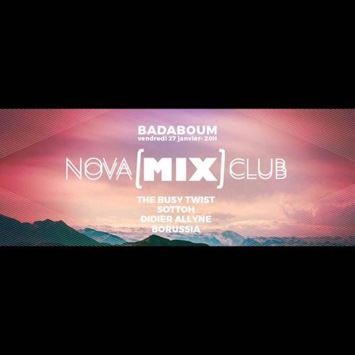 Borussia Dj set @ Nova Mix Club 27-01-2017