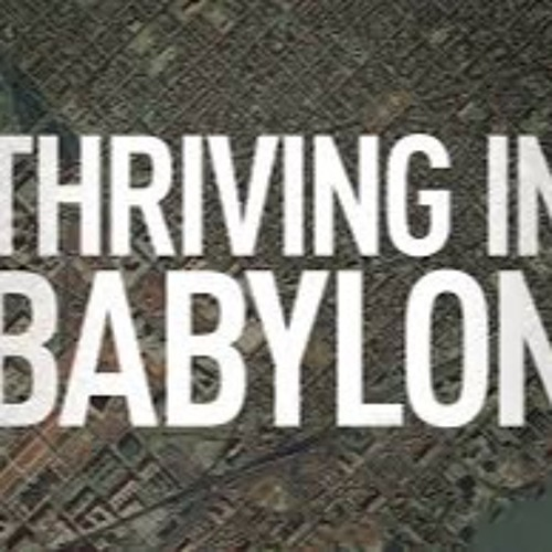 Thriving In Babylon Week 3