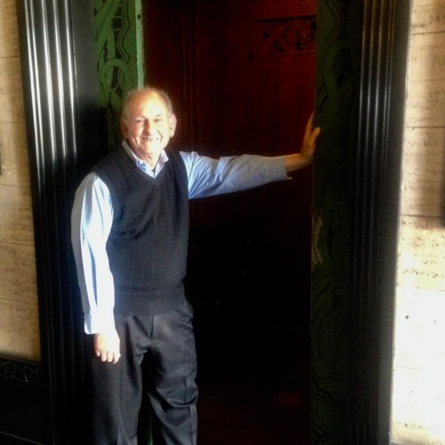 Maybe the Last Elevator Operator in Los Angeles
