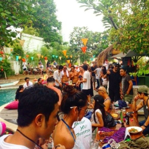 Prunk - Recording from The Strawhut Poolparty @ BALI (indonesia) 22-01-2017