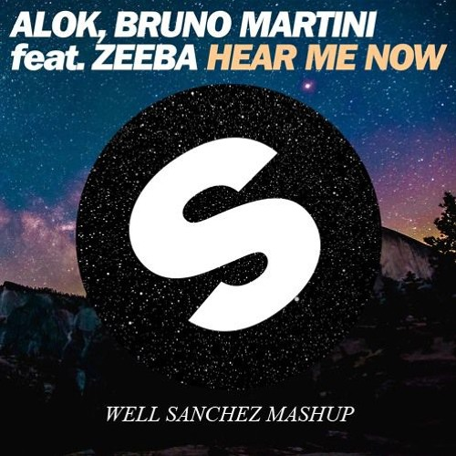 Baixar ALOK, Bruno Martini  Ft. Zeeba - Hear Me Now (Well Sanchez Mashup)