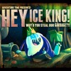Adventure Time: Hey Ice King! Why'd You Steal Our Garbage?!! - Title Screen