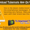 How To Download TubeMate App On Vivo Mobile