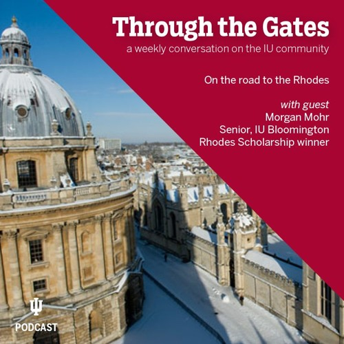 Ep. 43: On the road to the Rhodes with scholar Morgan Mohr