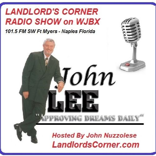 Landlord's Corner Show # 9- Special Guest, John Lee - Secrets of a Deal'ionaire