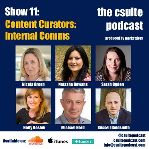Show 11 - The Content Curators - Internal Communications