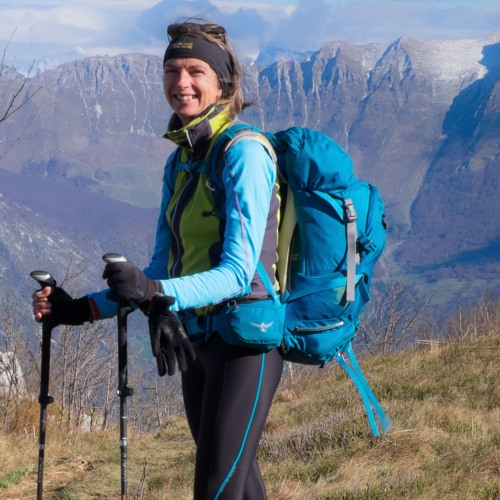 Hedonistic Hiker, Jackie Parsons Explains Her Walking Tours To Graeme Kemlo