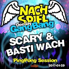 Basti Wach & Scary's PingPong Session @ Nachspiel KitKatClub