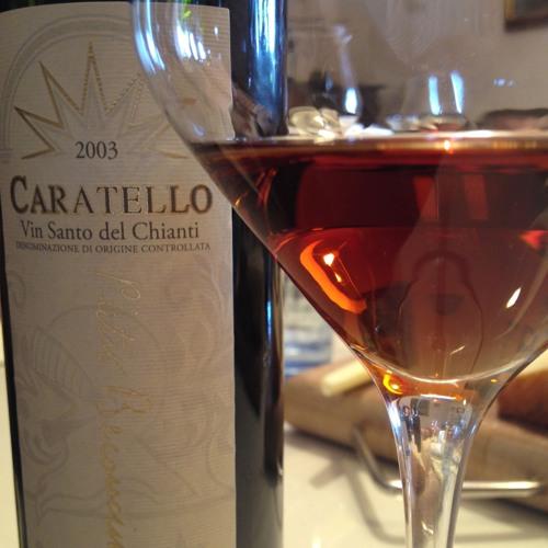 Caratello vino dolce prodotto dalla Cantina Beconcini