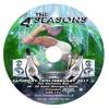 4 Seasons Winter white & denim mix (Green side)- Cd1