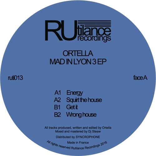 Ortella - Mad In Lyon 3 EP - ruti013