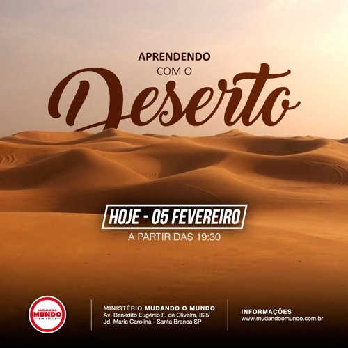 Pregação: Aprendendo Com O Deserto