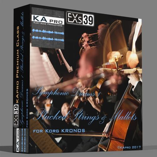 EXs39 Symphonic Dreams 1 Plucked Strings & Mallets (KApro Premium Class)