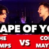 ed sheeran   shape of you sing off vs  the vamps conor maynard cover