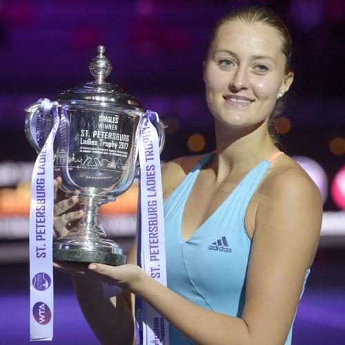 Champion's Corner: Kristina Mladenovic stays true to herself in St. Petersburg