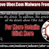 How To Remove Uber.Com Malware From Computer?