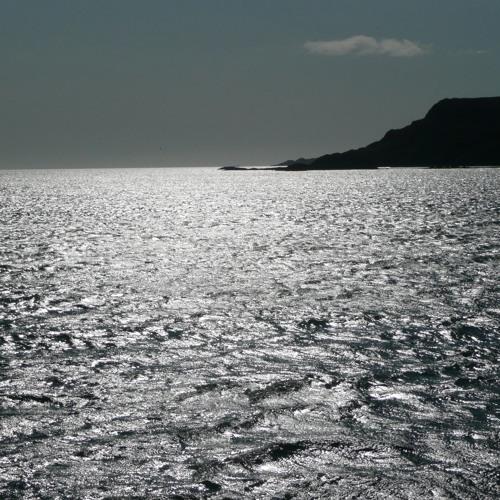 Light Reflecting On A Calm Ocean