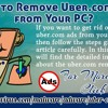 How To Remove Uber.Com Ads From Your PC?