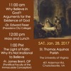 "Prof. Edward Feser: ""Why Believe in God?: Arguments for the Existence of God"" (UVA, 1 /28/ 17)"