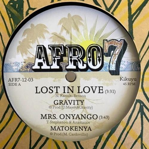 New AFRO7 Vintage Kenya Twelve - Gravity Matokenya Jabali