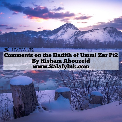 Comments on the Hadith of Ummi Zar Pt2