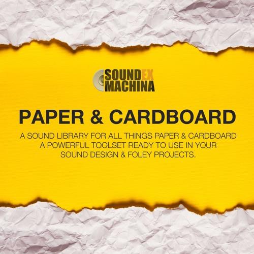 Paper & Cardboard [Audio Teaser]