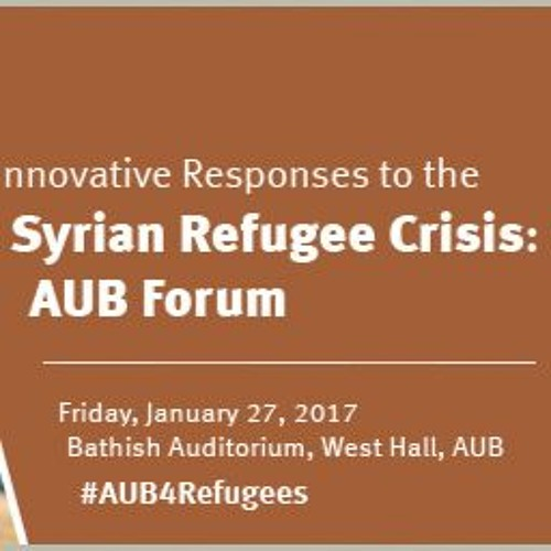 About AUB4Refugees Initiative