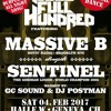 Dubs Full Hundred - Sentinel & Massive B @Halle W, Geneva 2.2017 [Fixed]