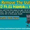 How To Remove The Vulkaninfo 32 Files Manually? .mp3