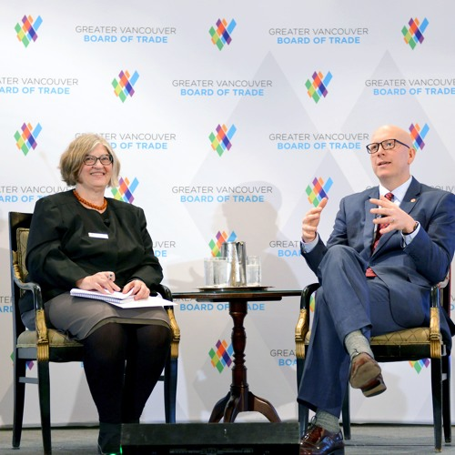 Metro Vancouver Chair Greg Moore's annual GVBOT address (Feb. 9, 2017)