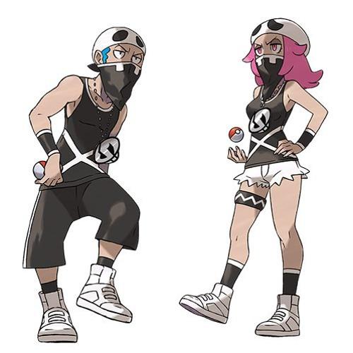 Download Pokemon Sun & Moon | Team Skull X @RealDealRaisi_K