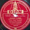 Pasión y Odio - Vals - Jesús Vásquez y Orquesta Típica Peruana de Carlos Martínez - Venezuela 1950s Portada del disco