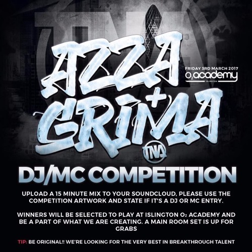 MC Clack - Azza & Grima MC Competition entry (DJ @Grimehouse)
