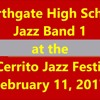 Northgate High School Jazz Band I at El Cerrito Jazz Festival