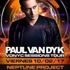 Neptune Project @ Paul van Dyk Vonyc Sessions Tour, Groove, Buenos Aires 2017-02-10 Artwork