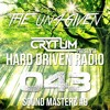 Crytum Presents - Hard Driven Radio #043 - Sound Masterz #9 (The Un4given Guest Mix)