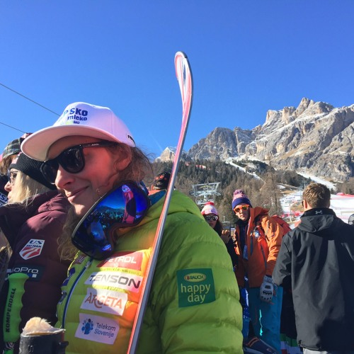 Ilka Štuhec, zadnja minuta smuka - St. Moritz