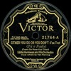 Eddie Harkness and his Orchestra - Either You Do Or You Don't - 1928