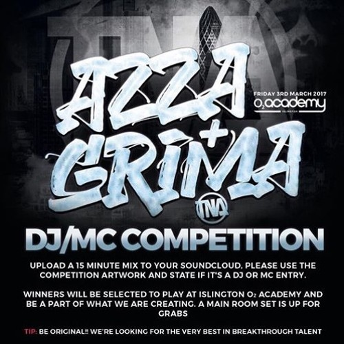 AZZA AND GRIMA DJ COMP ENTRY ANAGRAM