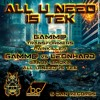 GAMM@ : PAINKILLER ( ALL U NEED IS TEK EP [5DAN RECORDS] )