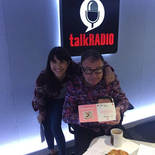 14th Feb 2017 - Valentines Day - Annem Hobson from So Wrong It's Nom on TalkRADIO with Paul Ross