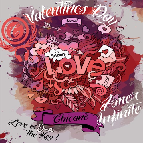 Chicano Amor Infinito Valentines Day Special Set By Chicano