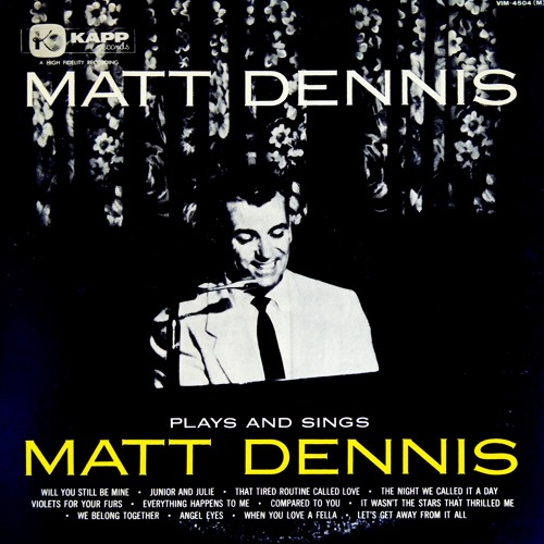 Matt Dennis - We Belong Together(Vinyl)