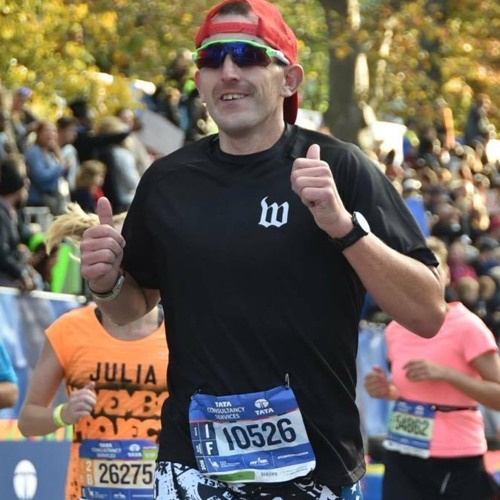 """47: From Couch Potato to Boston Marathoner to Ironman: Story of  """"Fast"""" Eddie McCoy"""