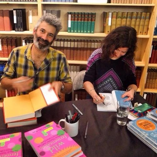 Sandor Ellix Katz + Liz Crain at Powell's February 12, 2017