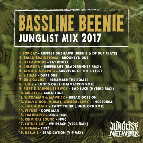 BASSLINE BEENIE - JUNGLIST NETWORK MIX